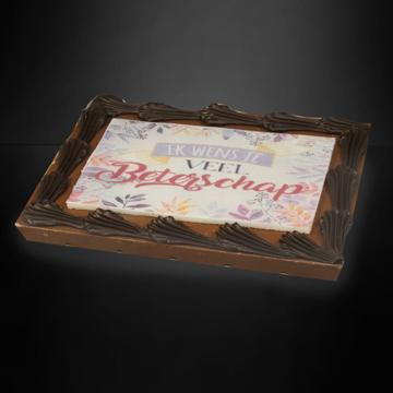 Afbeeldingen van Chocolade wensreep
