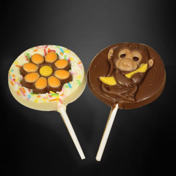 Afbeelding van Chocolade lolly