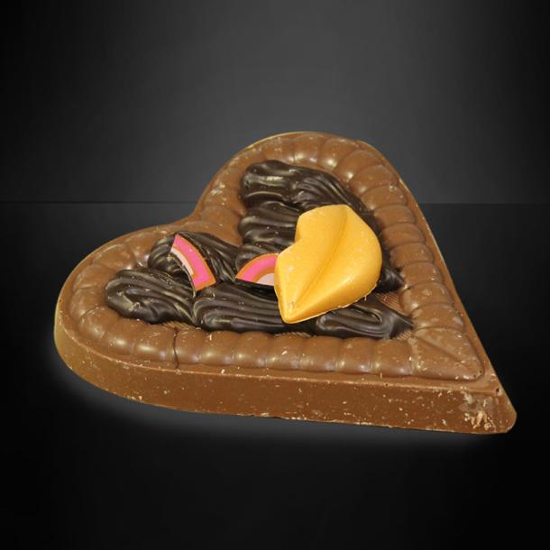 Afbeelding van Chocolade hart