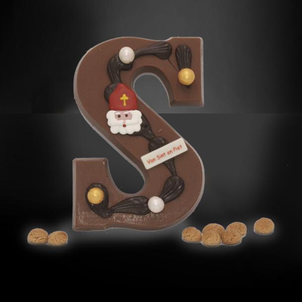 Afbeelding van Chocoladeletter Luxe